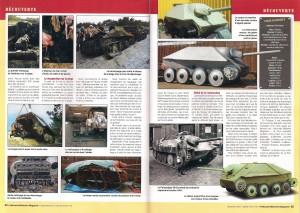 Vehicules Militaires No. 42 - Hetzer excav&reco