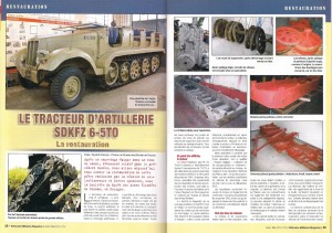 Vehicules Militaires No. 50 SDKFZ 6